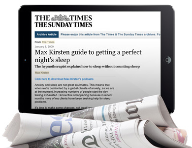 The Sleep Coach Max Kirsten In The Times
