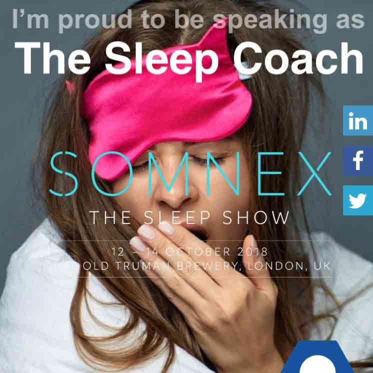 """Featured image for """"I'm Speaking At SOMNEX The Sleep Show 13th/14th Oct 2018"""""""