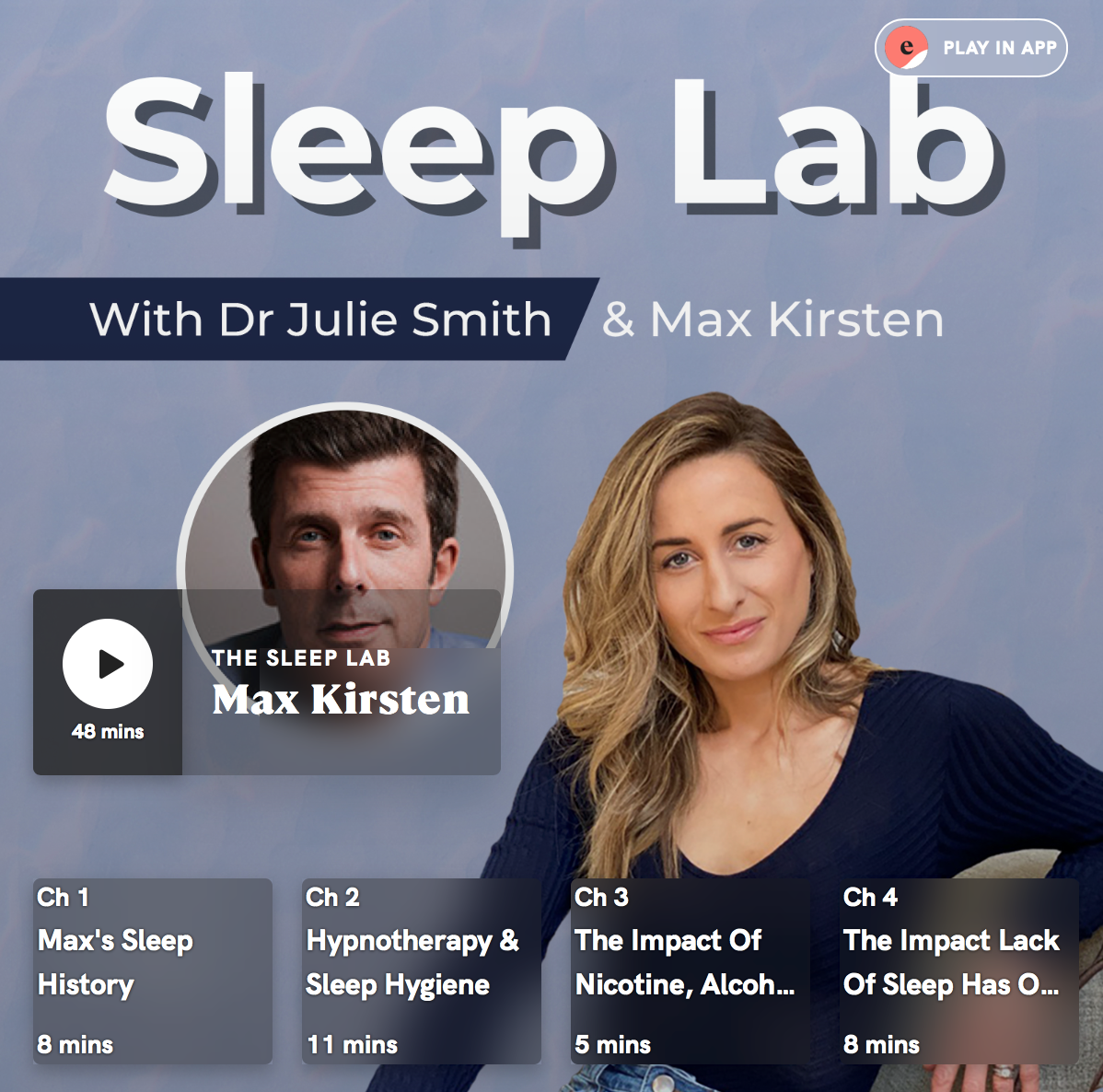 "Featured image for ""M&S Sleep Lab With Dr Julie Smith"""